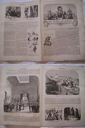 EL MUSEO UNIVERSAL. 10 febrero 1867. Núm.6, año XI.: GASPAR D.J. (Director)