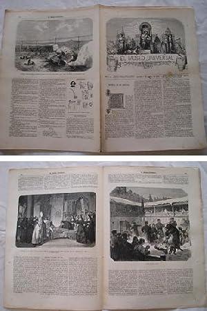 EL MUSEO UNIVERSAL. 7 abril 1867. Núm.14, año XI.: GASPAR D.J. (Director)