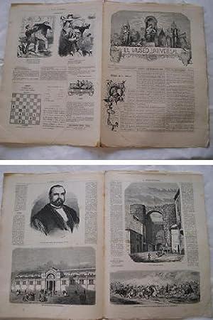 EL MUSEO UNIVERSAL. 3 enero 1869. Núm.1, año XIII.: CARLOS Abelardo de (Editor)