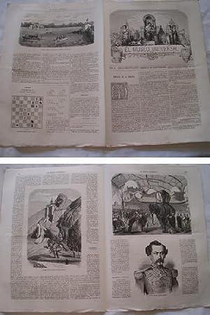 EL MUSEO UNIVERSAL. 31 agosto 1867. Núm.35, año XI.: GASPAR D.J. (Director)