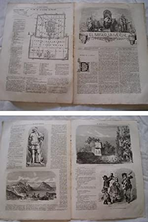 EL MUSEO UNIVERSAL. 13 enero 1864. Núm.2, año V.: GASPAR D.J. (Director)