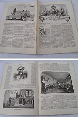 EL MUSEO UNIVERSAL. 16 junio 1861. Núm.24, año V.: GASPAR D.J. (Director)