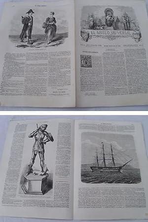 EL MUSEO UNIVERSAL. 20 julio 1862. Núm.29, año VI.: GASPAR D.J. (Director)