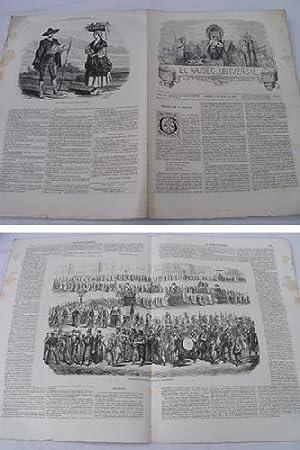 EL MUSEO UNIVERSAL. 15 junio 1862. Núm.24, año V.: GASPAR D.J. (Director)