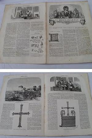 EL MUSEO UNIVERSAL. 24 febrero 1861. Núm.8, año V.: GASPAR D.J. (Director)