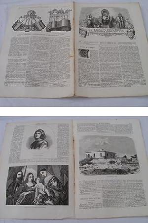 EL MUSEO UNIVERSAL. 3 febrero 1861. Núm.5, año V.: GASPAR D.J. (Director)