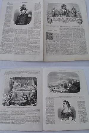 EL MUSEO UNIVERSAL. 24 agosto 1862. Núm.34, año VI.: GASPAR D.J. (Director)