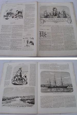 EL MUSEO UNIVERSAL. 3 setiembre 1865. Núm.36, año IX.: GASPAR D.J. (Director)