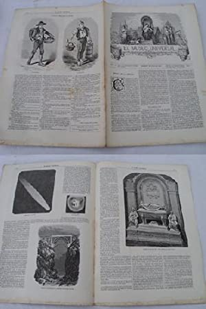 EL MUSEO UNIVERSAL. 7 julio 1861. Núm.27, año V.: GASPAR D.J. (Director)