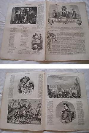 EL MUSEO UNIVERSAL. 6 enero 1861. Núm.1, año V.: GASPAR D.J. (Director)