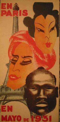 EXPOSICION INERNACIONAL DE PARIS, MAYO 1931: Sin autor