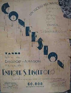 CONFESION (Tango): Sin autor