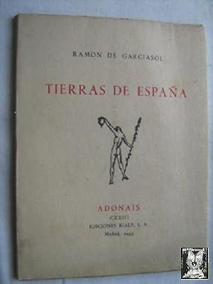 TIERRAS DE ESPAÑA: DE GARCIASOL, Ramón