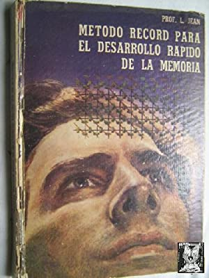 MÉTODO RECORD PARA EL DESARROLLO RÁPIDO DE LA MEMORIA: JEAN, L.