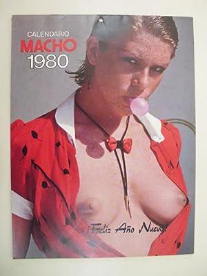 CALENDARIO MACHO 1980: REVISTA MACHO