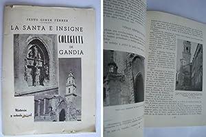 LA SANTA E INSIGNE COLEGIATA DE GANDIA. Apuntes Históricos: GINER FERRER Jesús
