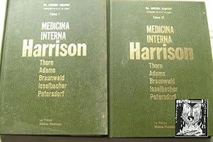 MEDICINA INTERNA HARRISON (2 volúmenes): THORN, George W/ ADAMS, Raymond D./ BRAUNWALD, ...