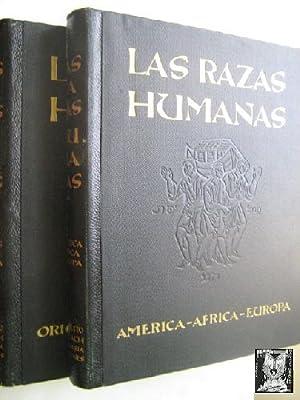 LAS RAZAS HUMANAS (2 volúmenes): Sin autor