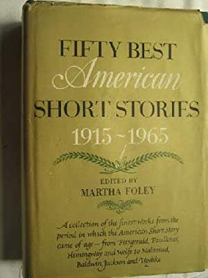 FIFTY BEST AMERICAN SHORT STORIES 1915-1965: Sin autor