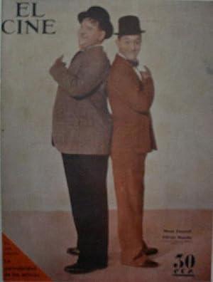 EL CINE. Semanario cinematográfico Nacional. Enero 1935: PEREZ DE LA FUENTE J. (director)