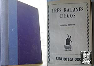 TRES RATONES CIEGOS/ EL CASO DEL SECUESTRO/: CHRISTIE, Agatha/ VAN
