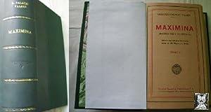 MAXIMINA (2 tomos en un volumen): PALACIO VALDÉS, Armando