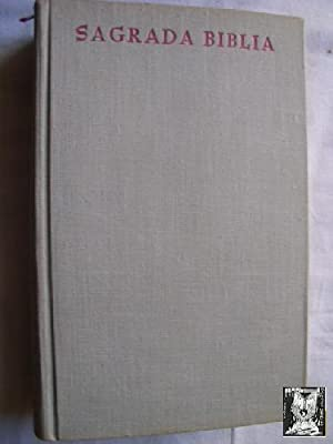 SAGRADA BIBLIA: Sin autor