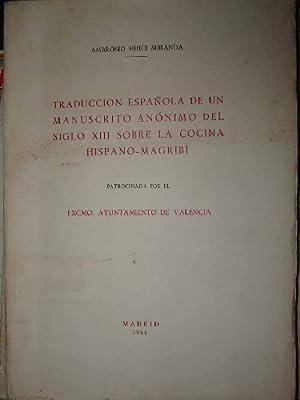 TRADUCCION ESPAÑOLA DE UN MANUSCRITO ANÓNIMO DEL: HUICI MIRANDA Ambrosio