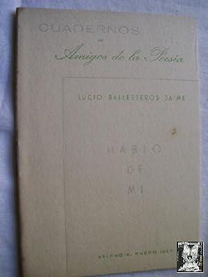 HABLO DE MI: BALLESTEROS JAIME, Lucio
