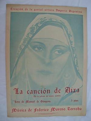 Partitura - Score : LA CANCIÓN DE: GONGORA Manuel (letra),
