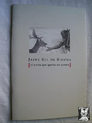 JAIME GIL DE BIEDMA: GIL DE BIEDMA, Jaime