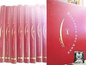 HISTORIA DEL ARTE (8 volúmenes): Sin autor