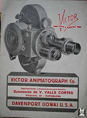 CATALOGO VICTOR CINE CAMERA