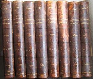 EL CUENTO SEMANAL (8 volúmenes). Desde el Año I Nº 1 al Año IV Nº ...