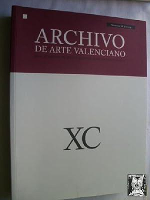 ARCHIVO DE ARTE VALENCIANO. XC. 2009: AAVV