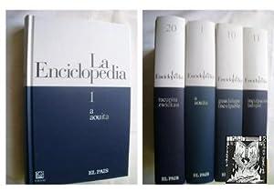 LA ENCICLOPEDIA (20 volúmenes) El País, Completa: PEREZ, ALICIA (Coordinacion)
