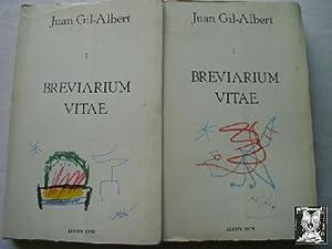 BREVIARIUM VITAE (2 volúmenes): GIL-ALBERT, Juan