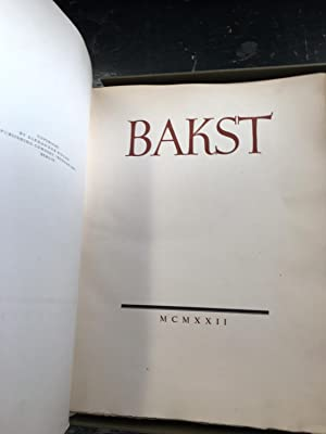 Bakst. The Story of Leon Bakst's Life (with custom made box): Levinson, Andre