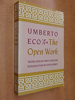 The Open Work: Umberto Eco translated