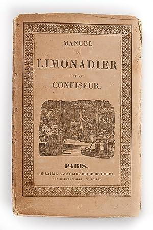 Manuel du Limonadier et du confiseur; contenant: CARDELLI M.; LIONNET-CLEMANDOT
