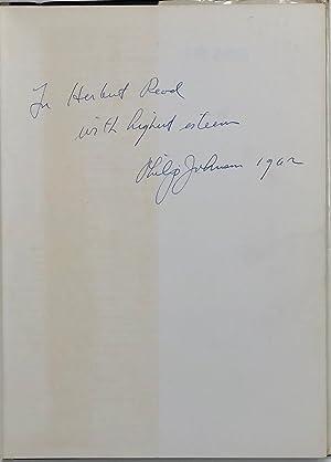 JOHNSON, JACOBUS (Philip)]., (John M.).: JOHNSON Philip.; JACOBUS John M.