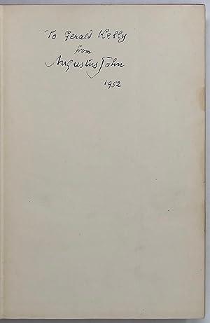 Chiaroscuro. Fragments of Autobiography.: JOHN Augustus