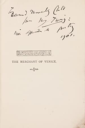 The Merchant of Venice.: IRVING Henry.; SHAKESPEARE William