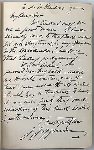The Autobiography of Joseph Jefferson.: JEFFERSON Joseph