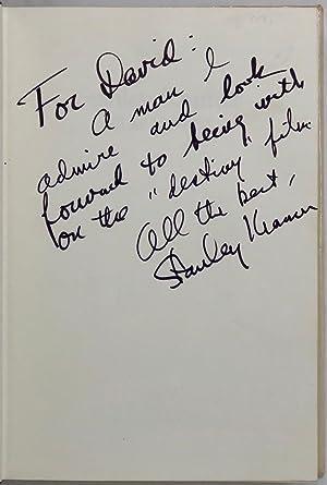 Stanley Kramer. Film Maker.: KRAMER Stanley.; SPOTO Donald