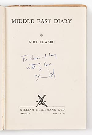 Middle East Diary.: COWARD Noel