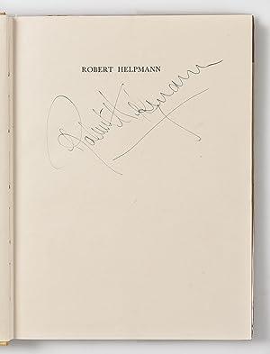 Robert Helpmann Choreographer.: FONTEYN Margot.; HELPMANN Robert.; BRAHMS Caryl