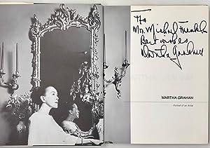 Martha Graham. Portrait of an Artist.: GRAHAM Martha.; LEATHERMAN