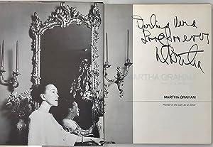Martha Graham. Portrait of the Lady as: GRAHAM Martha.; LEATHERMAN