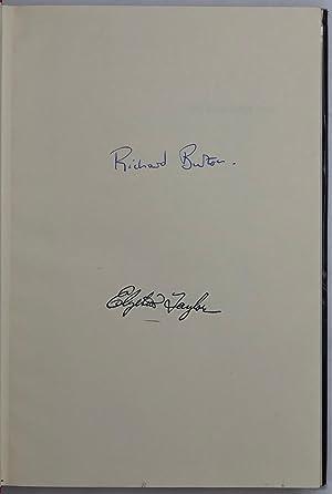 Richard Burton.: BURTON Richard.; TAYLOR Elizabeth.; FERRIS Paul